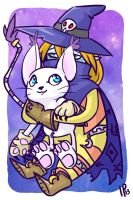 $8 Sale Commission Gatomon and Wizardmon by IdentityPolution