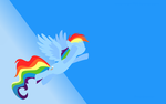 Rainbow Dash wallpaper by rainbowcrash1234