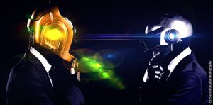 Daft Punk by ShashinKaihi