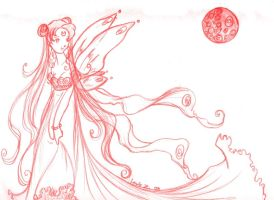 sketch_neo queen serenity by louisdepontdulac