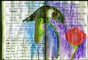 Humming bird journal page by theartproject
