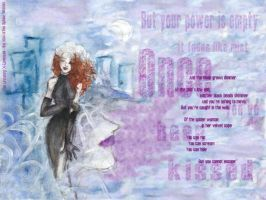 X - once you've been kissed.. by LevyRasputin