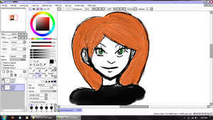 More Tablet Practice (Kim Possible) by Gabby413
