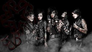 Black Veil Brides background by TheTricksterGFX