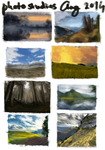 August 2014 Photostudies by ailerozn