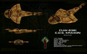 Galor class ortho - CDS Kraxon by unusualsuspex