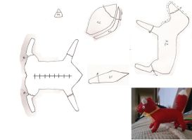 Fox plushie pattern by Follow-to-wonder