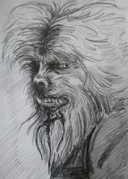 The Wolfman by DustyPaintbrush