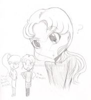 More practice drawing Zoisite by MSTieMiss
