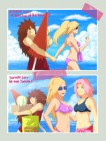 Ino's summer memories by GaaraJamiE88