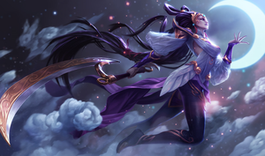 League of Legends: Lunar Goddess Diana. by Bennevolance