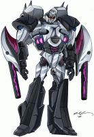 Megatron X Colored by DataGuy