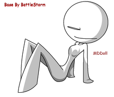mddoll base7 by BattleStorm