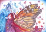 butterfly's kiss by Calitha-Lena
