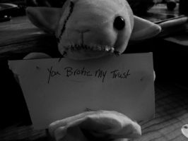 You Broke My Trust Says The Lamb by FeralAltruist