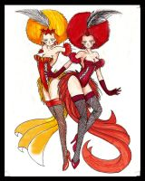 ladies of the circus by centauros-graphic