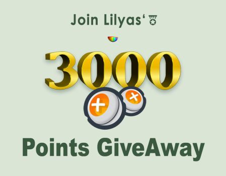 3000 Points Feature By Lilyas by CuzIzHot