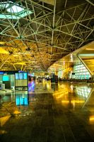 Moscow Airport by baybora