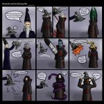 Akatsuki and the Sorting Hat by LunarMaddness