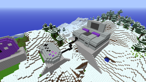 SNES - MineCraft by Panda203