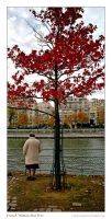 French Woman Red Tree by Andrew-and-Seven