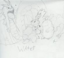 Water Pokemon by gir-is-me