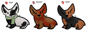 Natural-ish Adopts # 2 - Corgis - Free - Gone by Feralx1