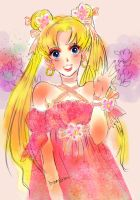Sailor moon-dress up usagi chan!- by La-h-i-n-a-y-u-m-e