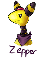 Ampharos by Zeige737