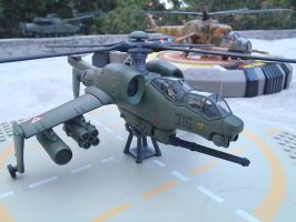 Attack helicopter wing ready. by Krulos