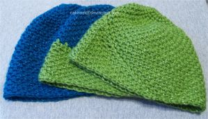 Crochet Beanie Hats by cakhost