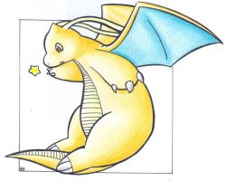 Star - Dragonite .:colour:. by Fluna
