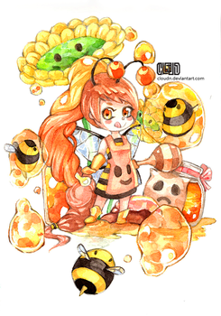 Honey Bee by CloudN