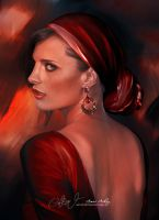 Stana Katic by Amro0