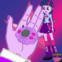 Twilight Sparkle Equestria Girls Digivice by Sasami87