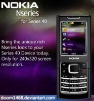 Nokia Nseries 1 by ChocSoldier
