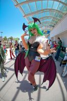 Fisheye for Morrigan by Stephchantastic