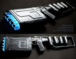 Batman Dark Knight Rises EMP Gun by AngelaBermudez