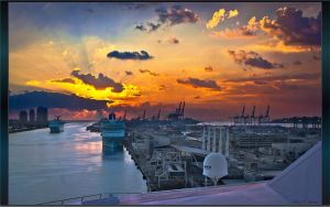 Port of Miami by RoseBone