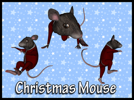 Christmas Mousies by Stock-by-Dana