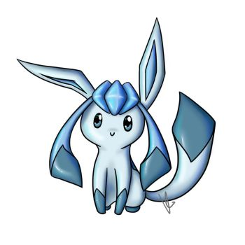 Glaceon by mew-chao
