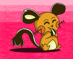 10 Days of Anticipation-Dedenne by Apricotthevixen