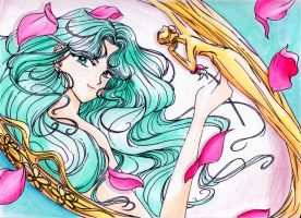 Sailor Neptune by LotusCrystal