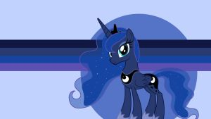 Princess Luna Wallpaper by DNKovic