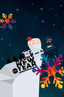 New Year Wallpaper for iphone by PimpYourScreen