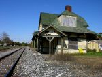 Abandoned Train Station by FairieGoodMother