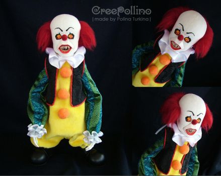 My second creepy clown - Pennywise by polinatur93