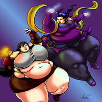 Commission: Tifa vs Rose - 3 of 4 by Ray-Norr
