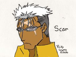 Right Hand of God: Scar by BloodlustBakura