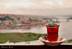 Tea in the by sinademiral